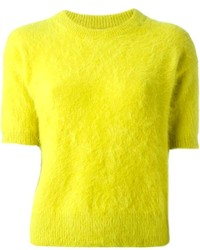 Green yellow crew neck sweater original 6915103