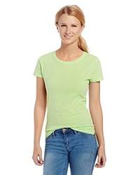 Green-Yellow Crew-neck T-shirt