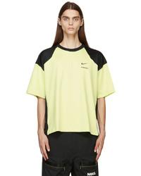 Nike Green Black Ambush Edition Logo T Shirt