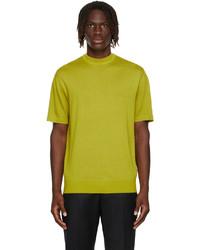 Loro Piana Yellow Avon Crewneck T Shirt