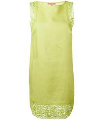 Ermanno Scervino Crochet Detail Shift Dress