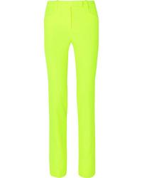 Versace Neon Cady Straight Leg Pants