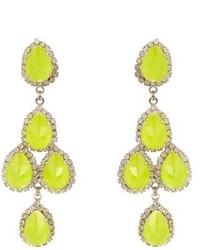 Green-Yellow Earrings