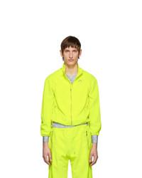 Marine Serre Yellow Moire Jacket