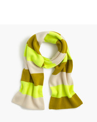 J.Crew Striped Cashmere Scarf