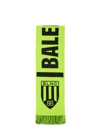 Balenciaga Yellow Soccer Scarf