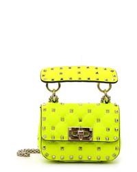 Valentino Garavani Micro Spike It Leather Shoulder Bag