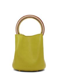 Marni Yellow Medium Pannier Bag