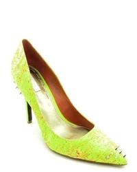 Rachel Rachel Roy Miyang Yellow Pumps Heels Shoes
