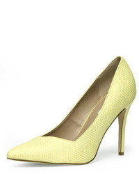 Dorothy Perkins Wide Fit Lemon High Courts