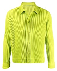 Homme Plissé Issey Miyake Pleated Long Sleeved Shirt