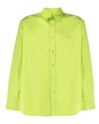 Martine Rose Pointed Collar Cotton Shirt