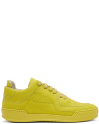 Green-Yellow Low Top Sneakers