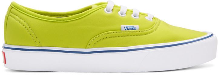 7aa8672ac2 ... Vans Green Schoeller Edition Authentic 66 Lite Lx Sneakers ...