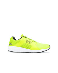 Ea7 Emporio Armani Mesh Sneakers