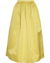 Duchess satin midi skirt medium 3674694