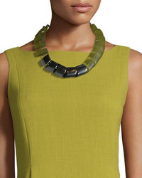 Acrylic mixed link necklace medium 708692