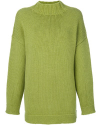 Alexander McQueen High Neck Cashmere Sweater