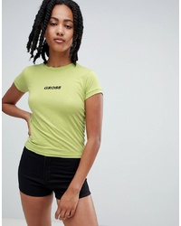 The Ragged Priest High Neck T Shirt With Slogan
