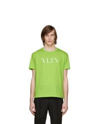 Valentino Yellow Vltn T Shirt