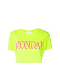 Alberta Ferretti Monday Cropped T Shirt