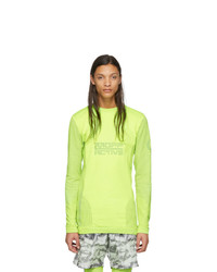 Off-White Yellow Seamless Running Top