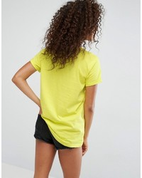 Asos T Shirt With Neon Print With True High Build Print