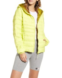 Only Tahoe Contrast Hooded Puffer Jacket