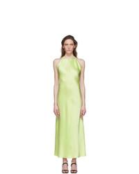 Rosetta Getty Green Slip Dress