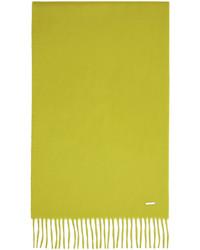 Loro Piana Yellow Cashmere Grande Unita Scarf