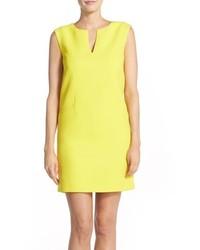 Adrianna Papell Piqu Shift Dress