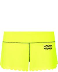 Green-Yellow Shorts