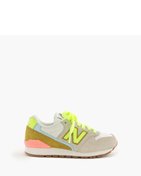 J.Crew Kids New Balance For Crewcuts 996 Sneakers In Champagne Lime