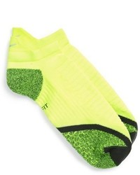 Nike Elite Cushioned No Show Tab Running Socks