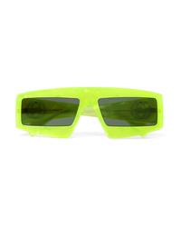 Gucci Oversized Square Frame Acetate Sunglasses