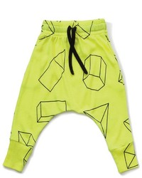 nununu Geometric Baggy Pants