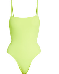 Green-Yellow Swimsuit