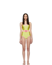 Gucci Yellow Plexi Belt One Piece