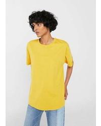 Mango Oversize Cotton T Shirt