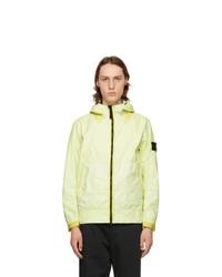 Stone Island Yellow Membrana 3l Tc Jacket