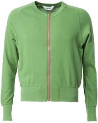 Green Zip Sweater