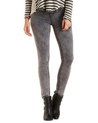 Refuge skin tight legging acid wash skinny jeans medium 165228