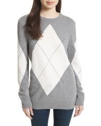 Equipment Rei Argyle Crewneck Sweater