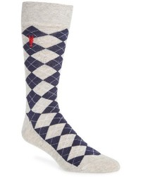 Cole Haan Pinch Argyle Socks
