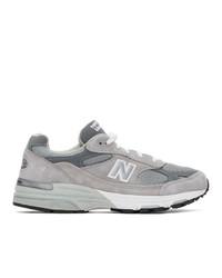 New Balance Grey 993 Sneakers