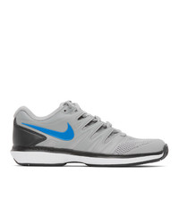 Nike Grey Court Air Zoom Sneakers