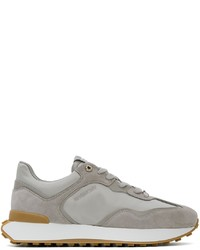Givenchy Grey Giv Runner Sneakers