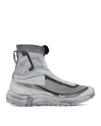 11 By Boris Bidjan Saberi Grey Salomon Edition Bamba 2 High Sneakers
