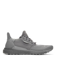 adidas Originals x Pharrell Williams Grey Solar Hu Prd Sneakers