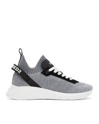 DSQUARED2 Grey Speedster Sneakers